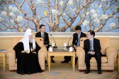 Patriarch Kirill meets with director of Chinese State Administration for Religious Affairs