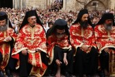 Patriarch of Jerusalem Washes the Feet of Clergymen