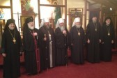 Metropolitan Tikhon, Holy Synod members meet with Metropolitan Jonah