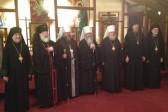 Metropolitan Tikhon, Holy Synod members meet with Metropolitan Jonah