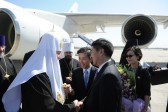 Head of Russian Orthodox Church Arrives in China