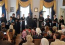 The Youth Choir of the Russian Church Abroad Performs at Marfo-Mariinsky Convent of Mercy