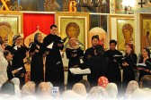 The Youth Choir of the Russian Church Abroad Performs in Protection of the Mother of God Church in Yasenevo