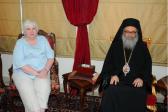 U.S. Ambassador Meets with Patriarch John X