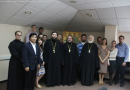 Protopriest Vladimir Vorobiev, Rector of St Tikhon Orthodox Humanitarian University, Meets with a Youth Delegation of the Russian Church Abroad