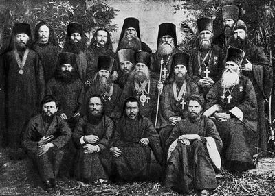 Bishop Vladimir with members of the Altai Ecclesiastical Mission in 1880