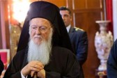 "The Ecumenical Patriarch called the Donbass conflict a ""fratricidal war"" and prayed for peace in Ukraine"