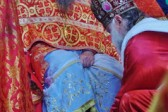 Bishop Peter of Cleveland Officiates at Rite of the Washing of the Feet