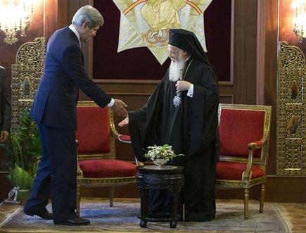 John Kerry, Bartholomew I