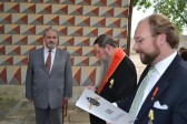 Archbishop Kyrill is Awarded the Imperial Order of St Anne, 1st Degree