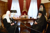 Primates of the Orthodox Church of Greece and Russia meet in Athens