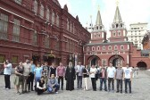 Serbian seminarians from Kosovo and Metohija visiting Russia