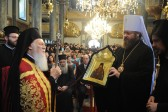 Moscow Patriarchate delegation takes part in celebrations on Patriarch Bartholomew of Constantinople's name day