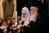His Holiness Patriarch Kirill visits Russian church of the Holy Trinity in Athens