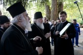 Patriarch Kirill makes thorough inspection of restoration work in Old Russic