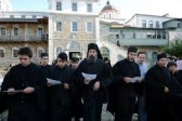Patriarch Kirill prays at St. Andrew Hermitage on Mount Athos