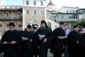Patriarch Kirill prays at St. Andrew Hermitage on Mount Athos