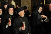 Patriarch leads candlelit vigil for Syria's kidnapped bishops