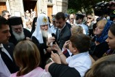 "Primates of the Orthodox Churches of Greece and Russia visit ""Apostoli"" Charity"