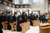 Highest awards of the Orthodox Church of Greece are conferred upon members of the Russian Orthodox Church delegation