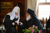 Patriarch Kirill meets with members of the Mount Athos Epistasia