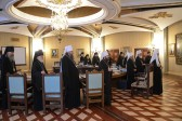 Supreme Church Council holds its session in the Cathedral of Christ the Saviour