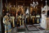 His Holiness Patriarch Kirill venerates Panagia Portaitissa at Iveron Monastery