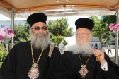 Ecumenical Patriarch Bartholomew receives Patriarch John of Antioch