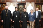 Metropolitan Hilarion meets with President of Tuning Academy