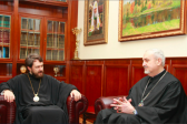 Metropolitan Hilarion meets with President and General Secretary of the Conference of European Churches