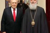 Serbia: Greek President Karolos Papoulias Met With Patriarch Irinej In Belgrade