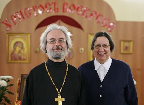 Fr. Alexander and Matushka Maria