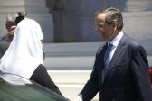 His Holiness Patriarch Kirill meets with the Greek Prime Minister, Antonis Samaras