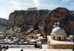 Aramaic, Jesus' language, still spoken in Maaloula (Abu-Fadil)