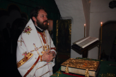 Metropolitan Hilarion celebrates Divine Liturgy in the Far Caves of the Kievan Laura of the Caves