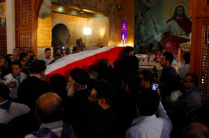 Fr. Mina's funeral