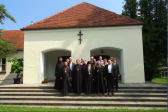 Delegation of the Russian Orthodox Church visits St. Job of Pochayev Monastery in Munich