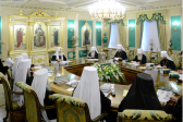 Holy Synod meets for regular session under chairmanship of Patriarch Kirill