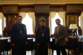 Metropolitan Hilarion meets with Mr. Luca Volontè, representative of the European People's Party