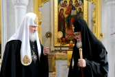 Meeting between Primates of Russian and Georgian Orthodox Churches