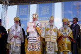 Primates of Local Orthodox Churches celebrate the Liturgy in Minsk Old Town