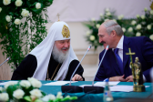 His Holiness Patriarch Kirill and Primates of Local Orthodox Churches meet with Belarusian President Alexander Lukashenko
