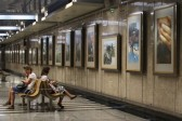 Modern Orthodoxy in photos at the Moscow metro