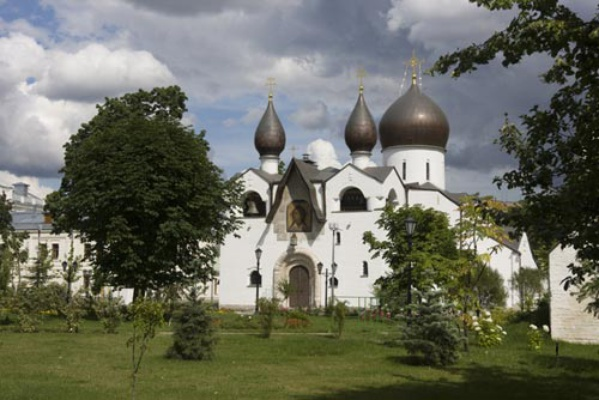 The Holy Protection Cathedral at the Martha and Mary Convent of Mercy