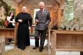 Prince of Wales makes stop at historic church during summer tour
