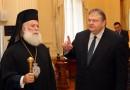 Venizelos Met With Greek Patriarch of Alexandria