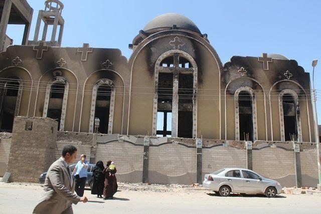 كنيسة الأنبا موسى بالمنيا