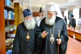 His Holiness Patriarch Neophyte of Bulgaria visits Kiev Theological Schools