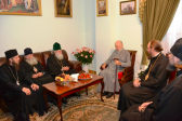 Patriarch Neophyte of Bulgaria meets with Metropolitan Vladimir of Kiev and All Ukraine
