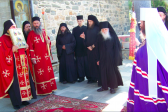 Delegation of the Russian Orthodox Church arrives on Mount Athos